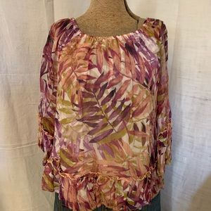 Lucky brand floral top.